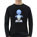 Fortune Teller Crystal Ball 1600 Clr Long Sleeve Dark T-Shirt