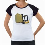 Forklift Pallet Box Pc 1600 Clr Women s Cap Sleeve T