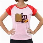 Forklift Pallet Box Pc 1600 Clr Women s Cap Sleeve T-Shirt