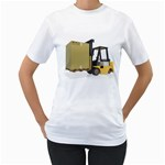 Forklift Pallet Box Pc 1600 Clr Women s T-Shirt