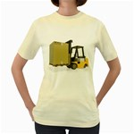 Forklift Pallet Box Pc 1600 Clr Women s Yellow T-Shirt
