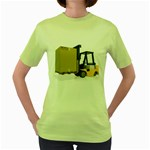 Forklift Pallet Box Pc 1600 Clr Women s Green T-Shirt