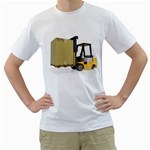 Forklift Pallet Box Pc 1600 Clr White T-Shirt