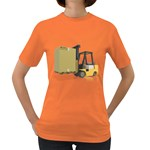 Forklift Pallet Box Pc 1600 Clr Women s Dark T-Shirt