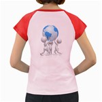 Teamwork Lift Earth Pc 1600 Clr Women s Cap Sleeve T Back