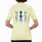 Three Way Hand Shake Pc 1600 Clr Women s Yellow T Back