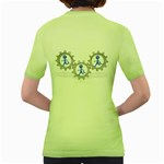 Three Running In Gear Pc 1600 Clr Women s Green T Back
