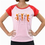 Team Celebration Pc 1600 Clr Women s Cap Sleeve T-Shirt