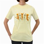 Team Celebration Pc 1600 Clr Women s Yellow T-Shirt