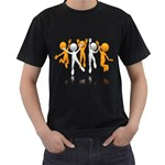 Team Celebration Pc 1600 Clr Black T-Shirt (Two Sides)