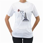 Shout From Roof 1600 Clr Women s T-Shirt