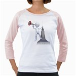 Shout From Roof 1600 Clr Girly Raglan