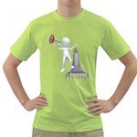 Shout From Roof 1600 Clr Green T-Shirt