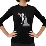 Shout From Roof 1600 Clr Women s Long Sleeve Dark T-Shirt