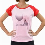 Screen Press Pc 1600 Clr Women s Cap Sleeve T-Shirt