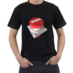 Panic Button 1600 Clr Black T-Shirt