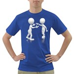 Heated Conversation Pc Dark T-Shirt