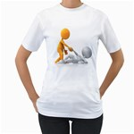 Lend A Helping Hand 1600 Clr Women s T-Shirt