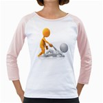 Lend A Helping Hand 1600 Clr Girly Raglan