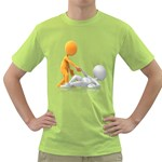 Lend A Helping Hand 1600 Clr Green T-Shirt