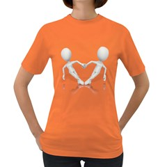 Hand Hold Heart Pc 1600 Clr Women s Dark T Front