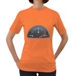 Fuel Gauge Full 1600 Clr Women s Dark T-Shirt