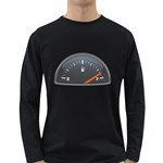 Fuel Gauge Full 1600 Clr Long Sleeve Dark T-Shirt