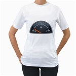 Fuel Gauge Empty 1600 Clr Women s T-Shirt