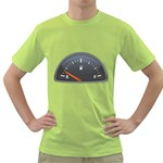 Fuel Gauge Empty 1600 Clr Green T-Shirt