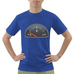 Fuel Gauge Empty 1600 Clr Dark T-Shirt