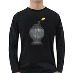 Fish Jump Pc 1600 Clr Long Sleeve Dark T-Shirt