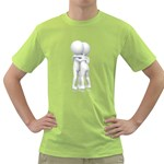 Giving Hug Pc 1600 Clr Green T-Shirt