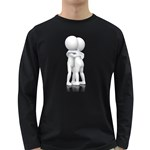 Giving Hug Pc 1600 Clr Long Sleeve Dark T-Shirt