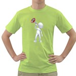 Figure With Megaphone 1600 Clr Green T-Shirt