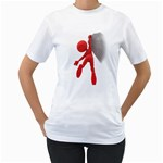 Figure Hang Cliff 1600 Clr Women s T-Shirt