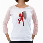 Figure Hang Cliff 1600 Clr Girly Raglan