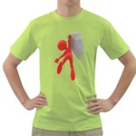 Figure Hang Cliff 1600 Clr Green T-Shirt