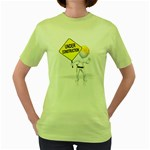 Under Construction Pc 1600 Clr Women s Green T-Shirt