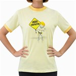 Under Construction Pc 1600 Clr Women s Fitted Ringer T-Shirt