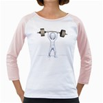 Stick Figure List Weight 1600 Clr Girly Raglan