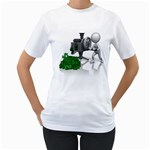 Stick Figure Crank Money Ca 1600 Clr Women s T-Shirt