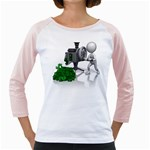 Stick Figure Crank Money Ca 1600 Clr Girly Raglan