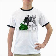 Stick Figure Crank Money Ca 1600 Clr Ringer T from ArtAttack2Go Front