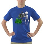 Stick Figure Crank Money Ca 1600 Clr Dark T-Shirt