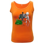 Stick Figure Crank Money Ca 1600 Clr Women s Dark Tank Top