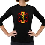 Z4a Women s Long Sleeve Dark T-Shirt