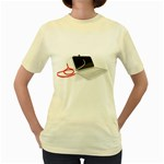 Usb Stethoscope2 Pc 1600 Clr Women s Yellow T-Shirt