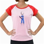 Nurse Charting Pc 1600 Clr Women s Cap Sleeve T-Shirt