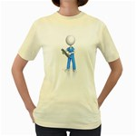 Nurse Charting Pc 1600 Clr Women s Yellow T-Shirt