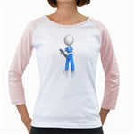 Nurse Charting Pc 1600 Clr Girly Raglan